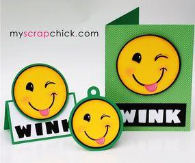 Emoji WINK Trio: click to enlarge