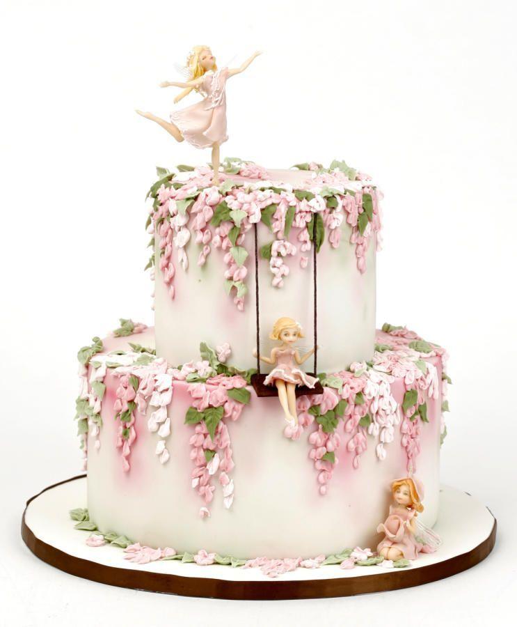 Pin By Sheeren Reen On Design Cake Fairy Garden Cake Fairy