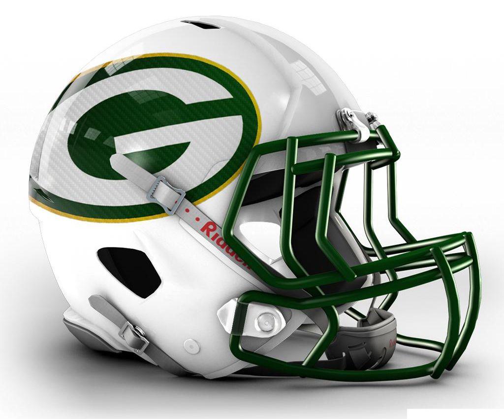Nfl Helmets Redesigned Football Helmets 32 Nfl Teams Nfl Football Helmets