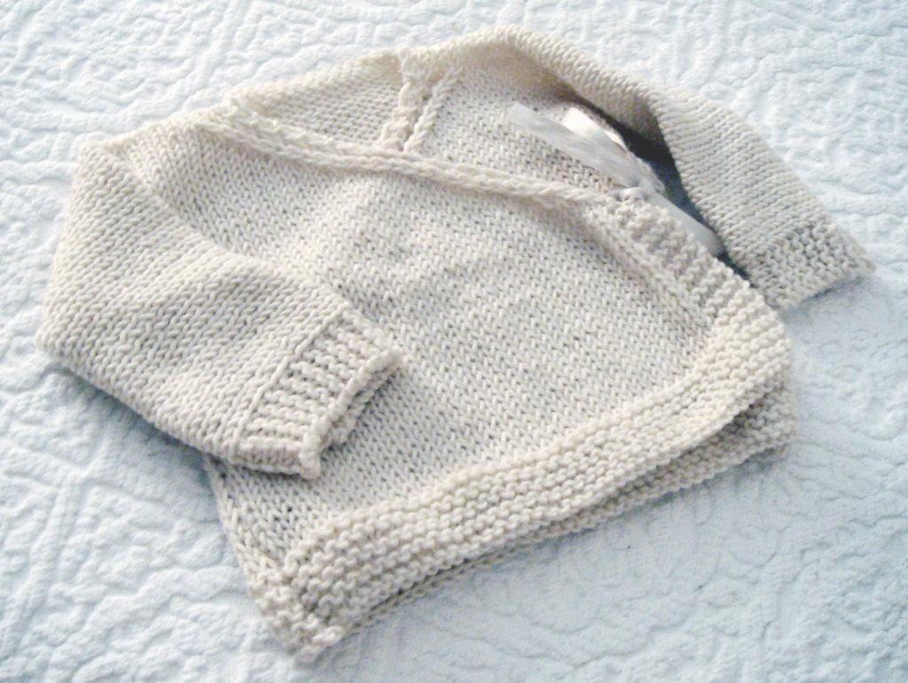 Tiny kimono sweater | Patterns, Babies and Baby knitting