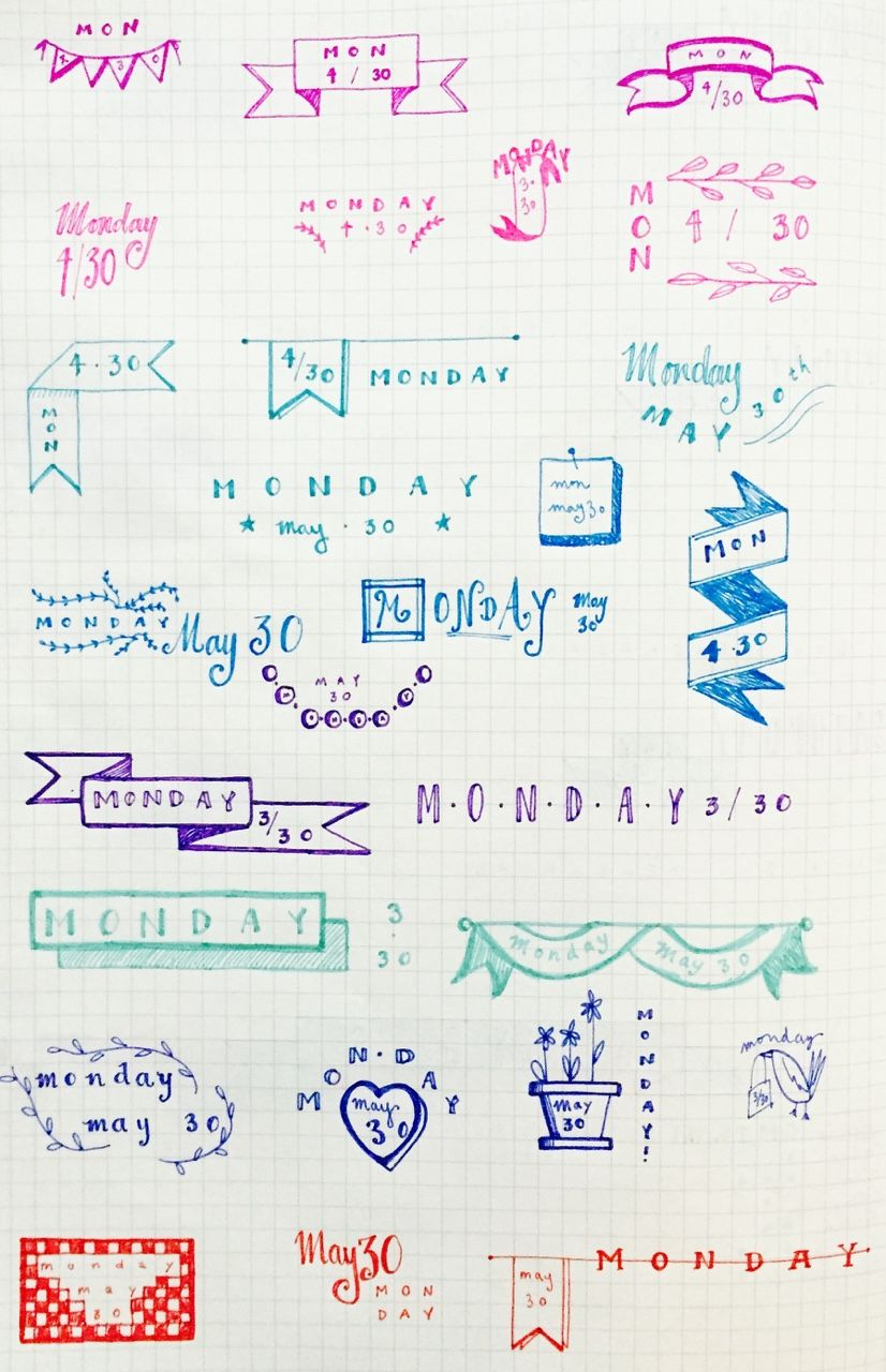 Bullet Journal Viñetas Pinterest Bullet Journal Journal Y