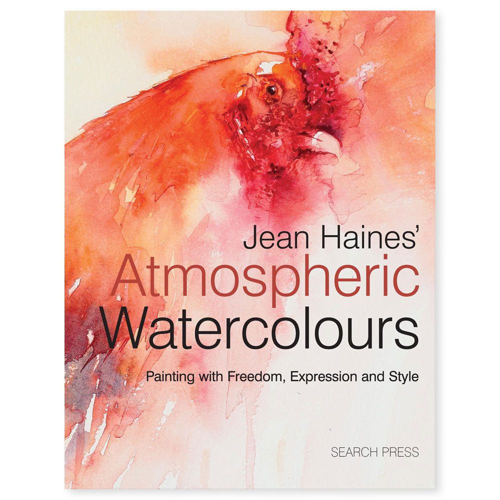 Watercolor books by search press - Jean Haines Atmospheric Watercolours Book
