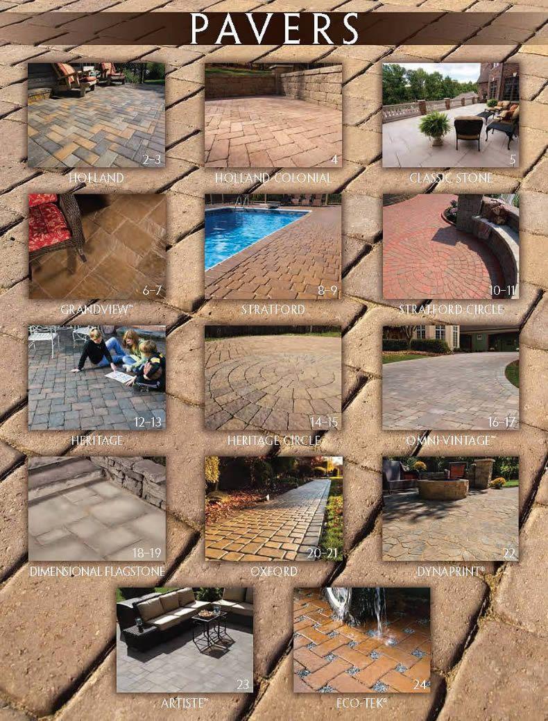 Omni-Stone Paver Styles 2014