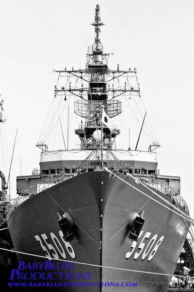 Japanese Destroyer Ship