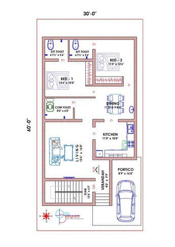 House Plan 25 X 50 Luxury 28 House Map Design 25 X 50 O 30x50 House Plans South Facing House House Map