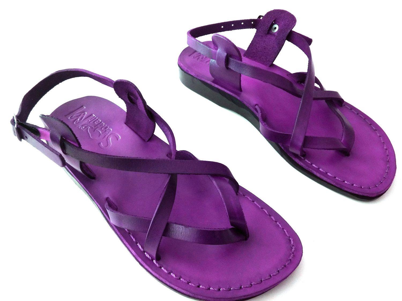 05614a721d33a New Leather Sandals VENICE Women s Shoes Thongs Flip Flops Flats Slides  Slippers Biblical Bridal Wedding Colored Footwear Designer by Sandalimshop  on Etsy