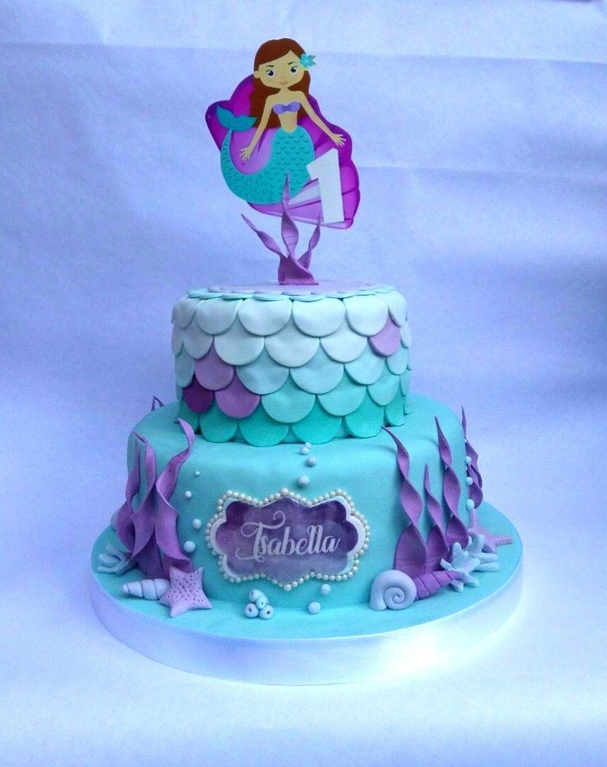 Torta de Cumpleaños de Isabella - birthday cake - hecho por Glace Arte y Reposteria