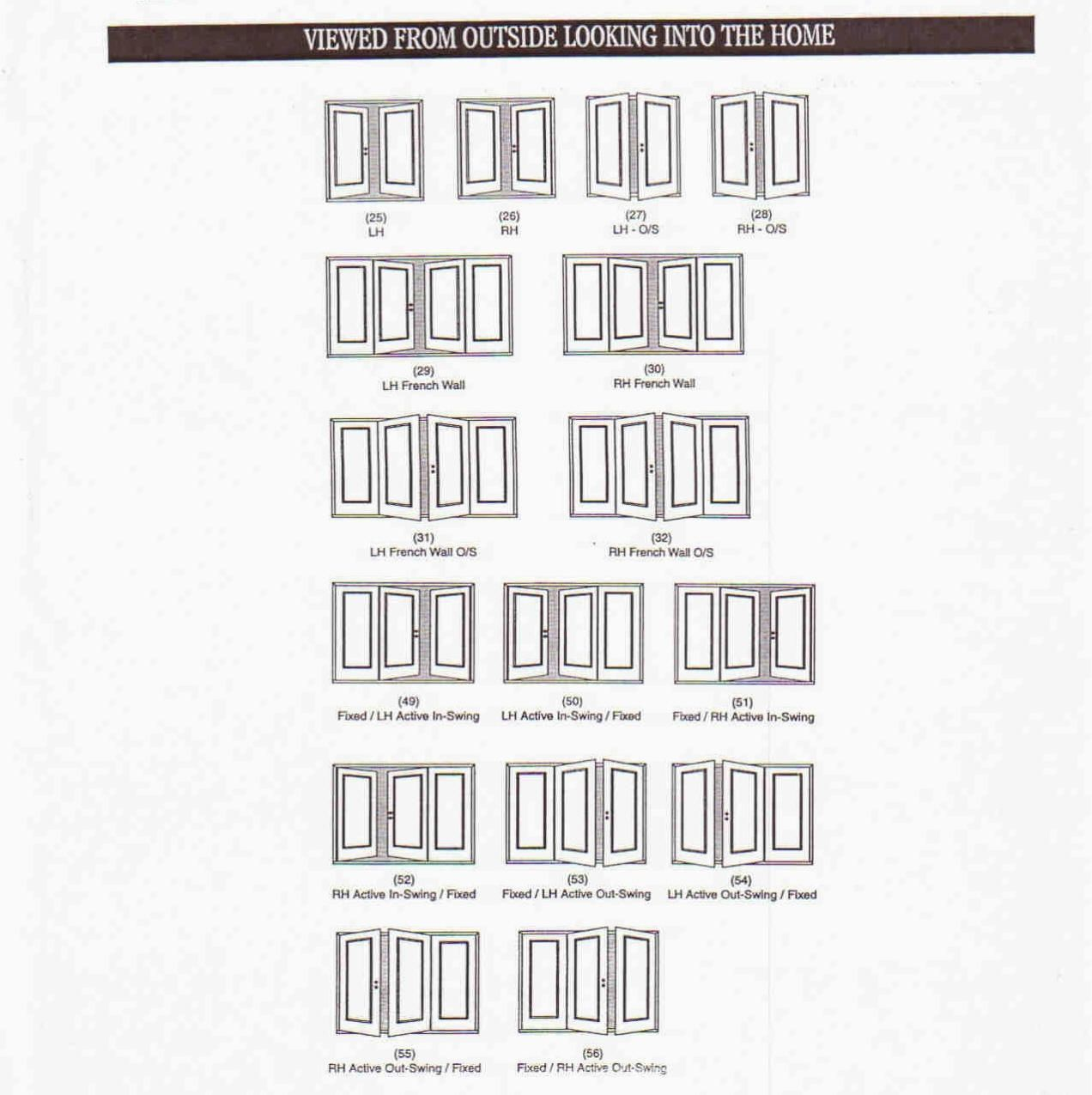 Double door sizes interior http for Standard french door width