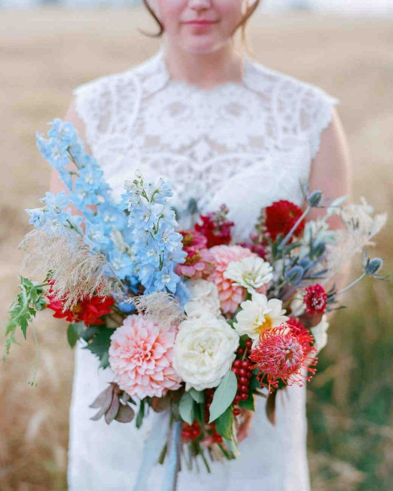 37++ Red poppy wedding bouquet info