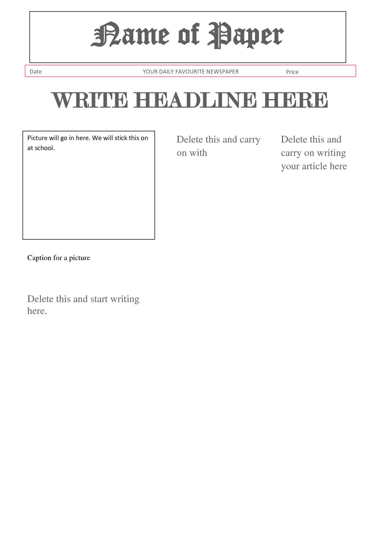The Terrific Best Photos Of Newspaper Report Format Article Report In News Report Template Photo Below Is Report Template Business Template Newspaper Report