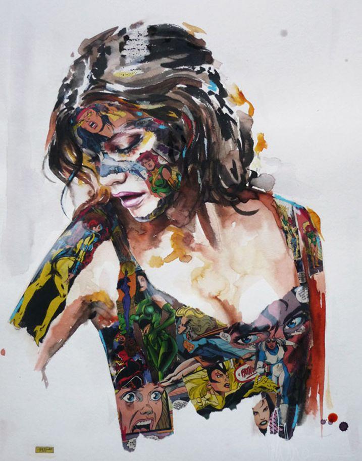 Sandra Chevrier - Comic Girl