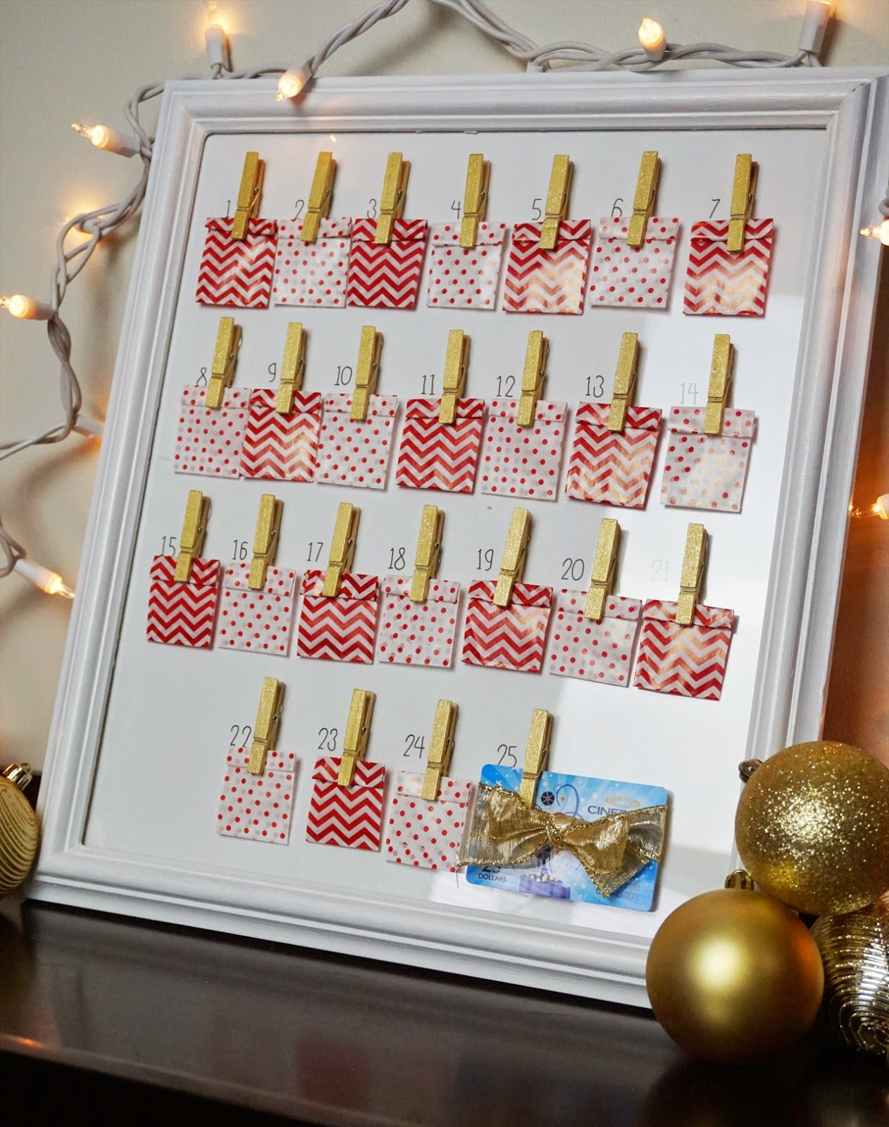 Do it yourself christmas countdown calendar craft advent do it yourself christmas countdown calendar solutioingenieria Image collections