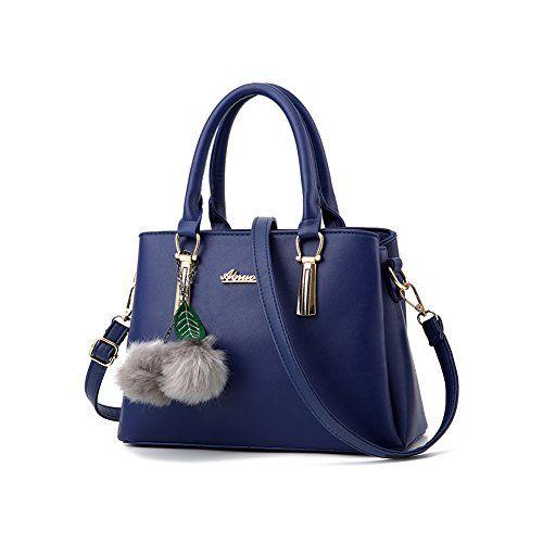 0845214f15b3 Women s Designer Top Handle Handbag Tote Crossbody Bag Pu ...