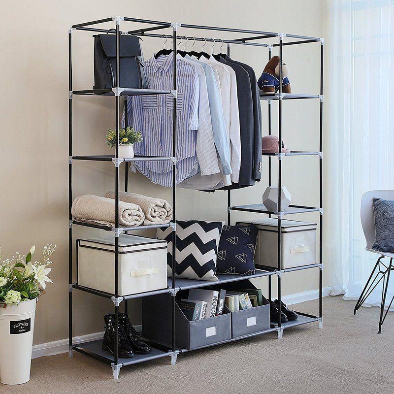 Best Portable Closet Ideas For Clothes Portable Wardrobe Closet