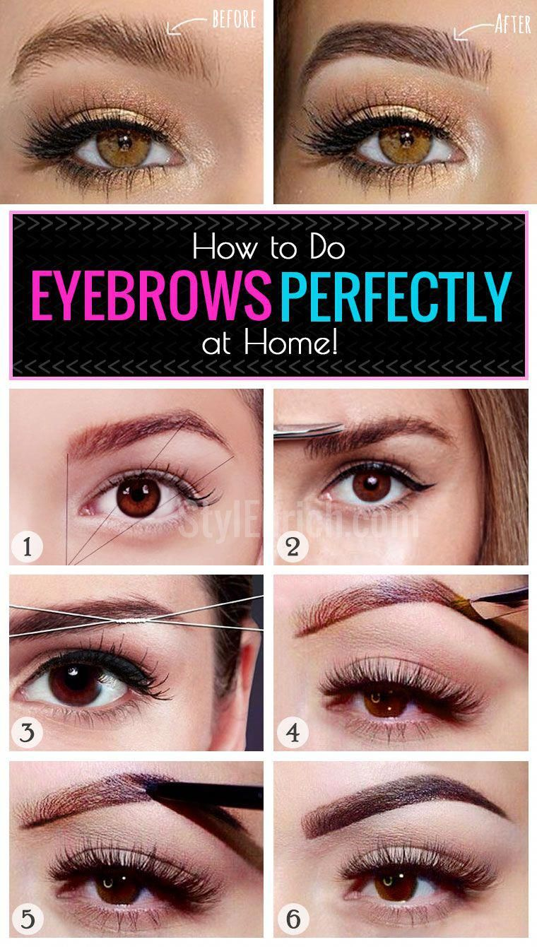EybrowsAtHome Learn How to Do Eyebrows Perfectly at