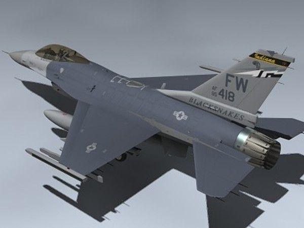 3D F 16C Falcon Block 25 Model - 3D Model 3D-Modeling Pinterest - faire sa maison en 3d