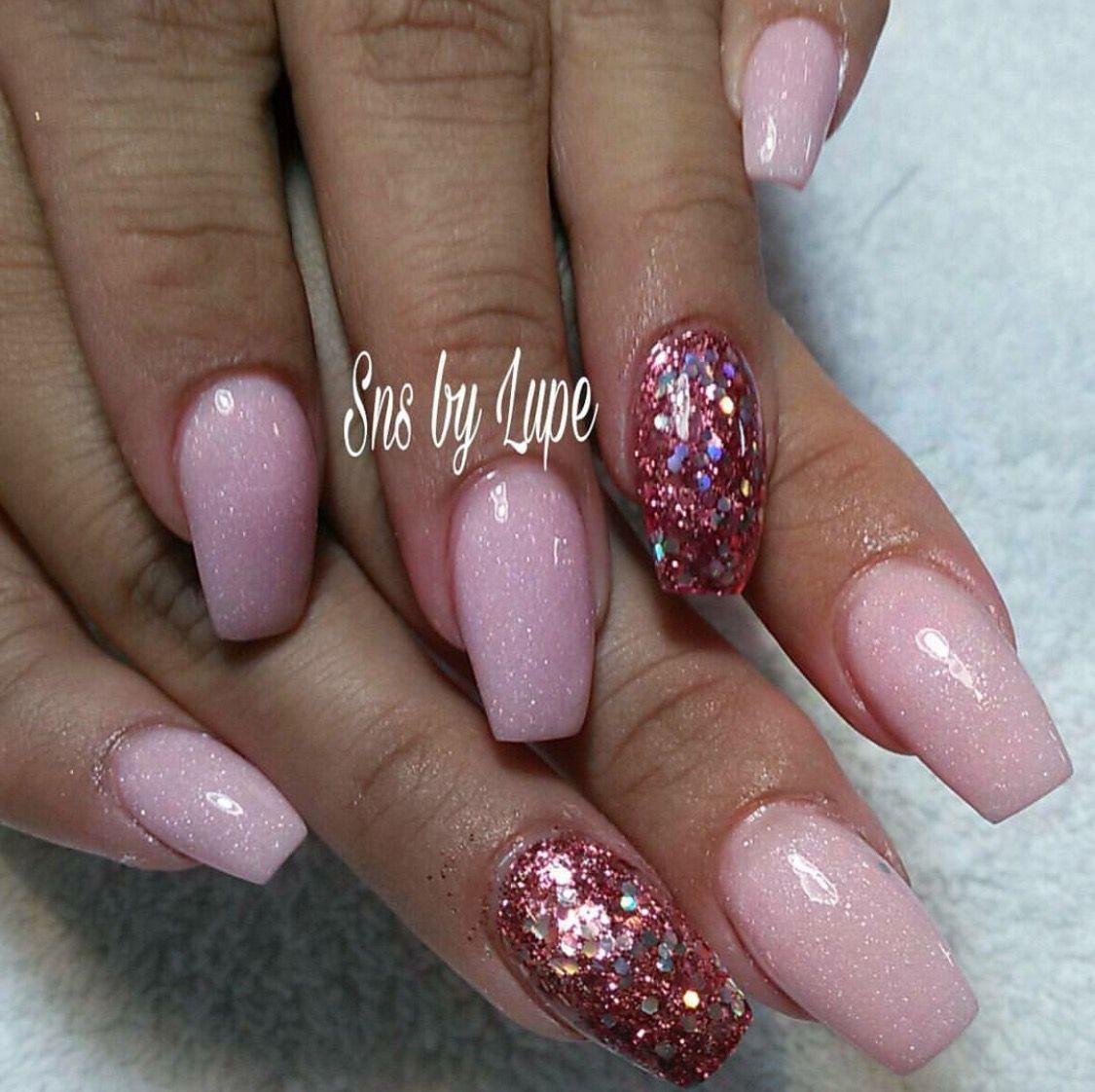 SNS 337 power nail color   Sns nails colors, Valentines