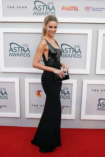 Jennifer Hawkins - Arrivals at the ASTRA Awards