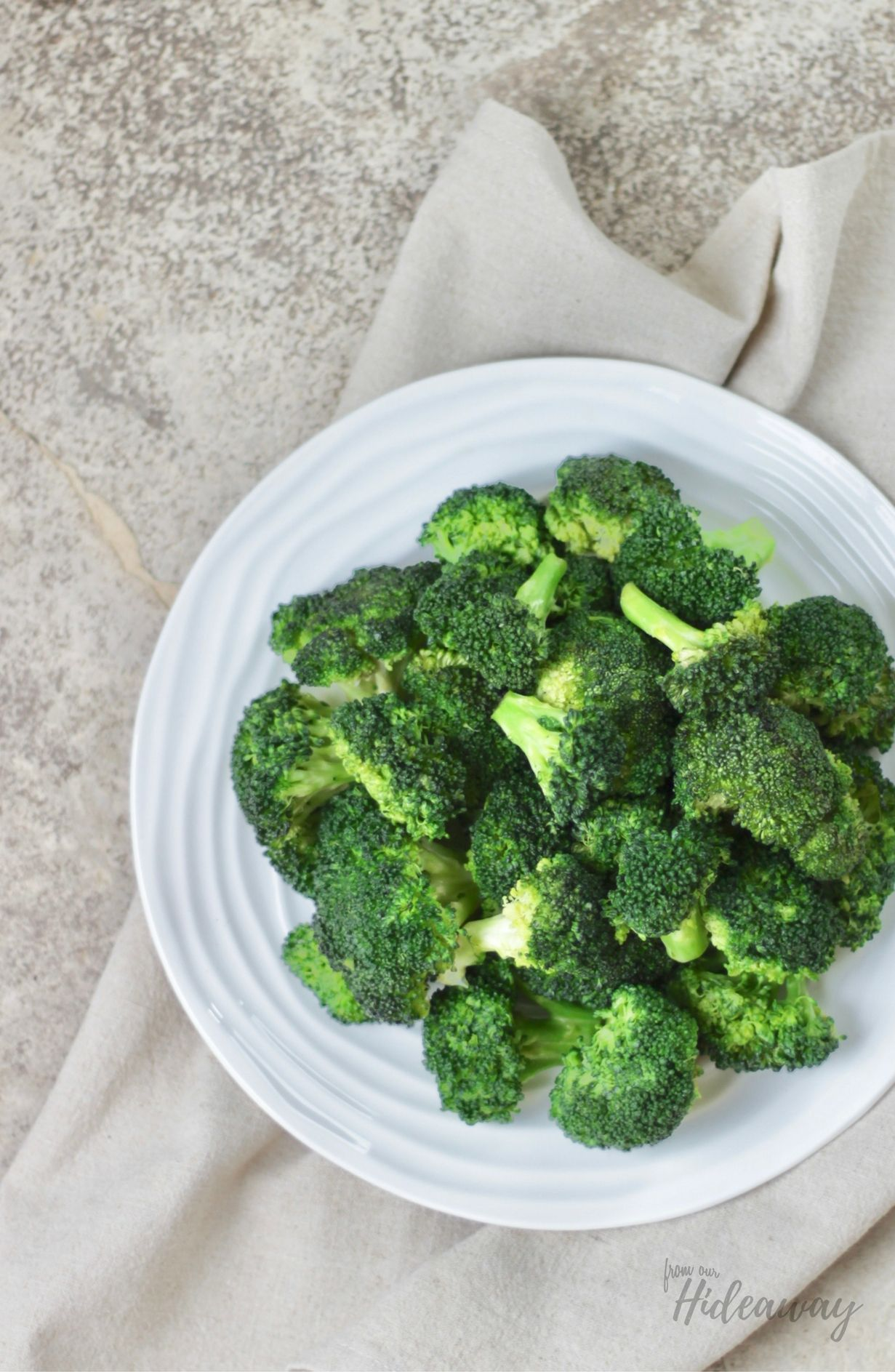 Easy Broccoli Recipe FromOurHideaway.com