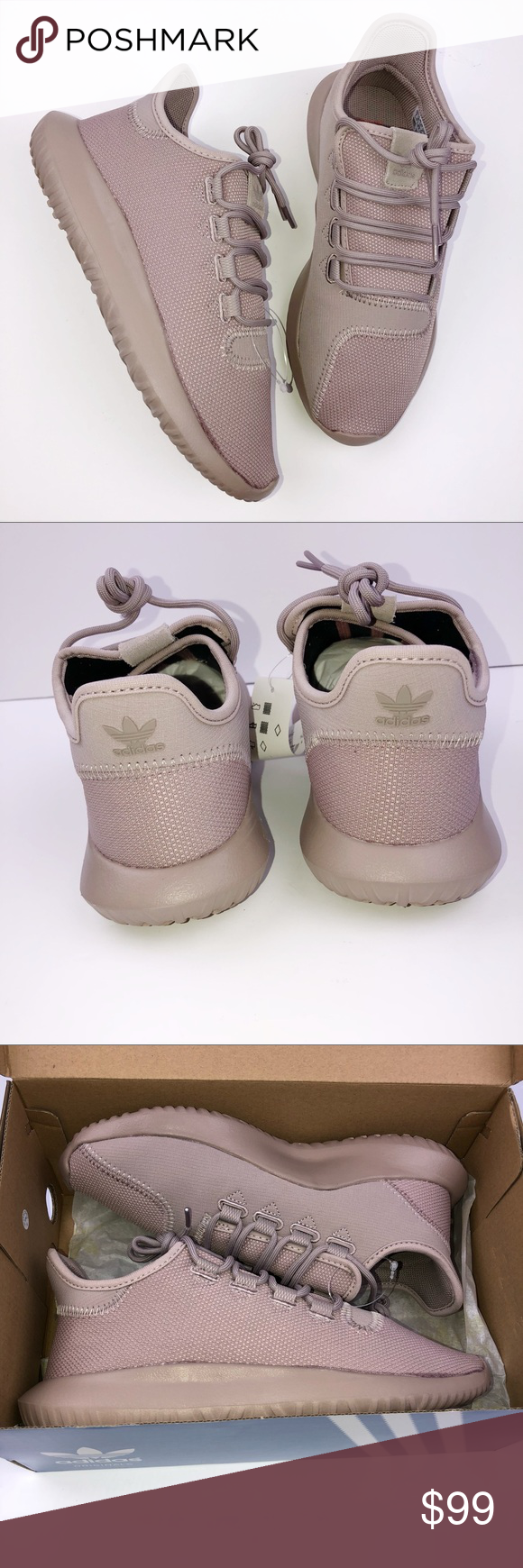 Adidas Tubular Shadow J Pink Women 8 Men 7 Shoes Adidas