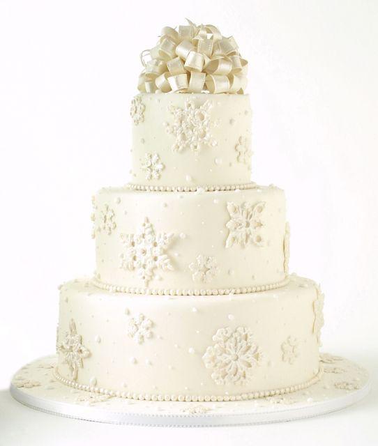 Wedding Cake 101 An Introduction To Wedding Cakes: Wedding Cake Pearls, Snowflake