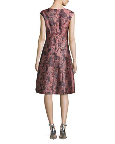 cee50f17f26 TBRUZ Kay Unger New York Sleeveless V-Neck Cocktail Dress