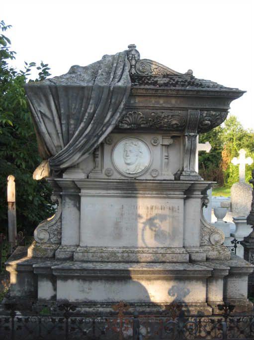 Armenian cemetery, Botosani, Romania...