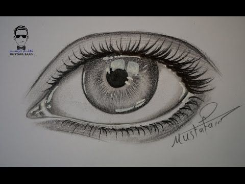 How To Drawing Eyes Step By Step Dessin