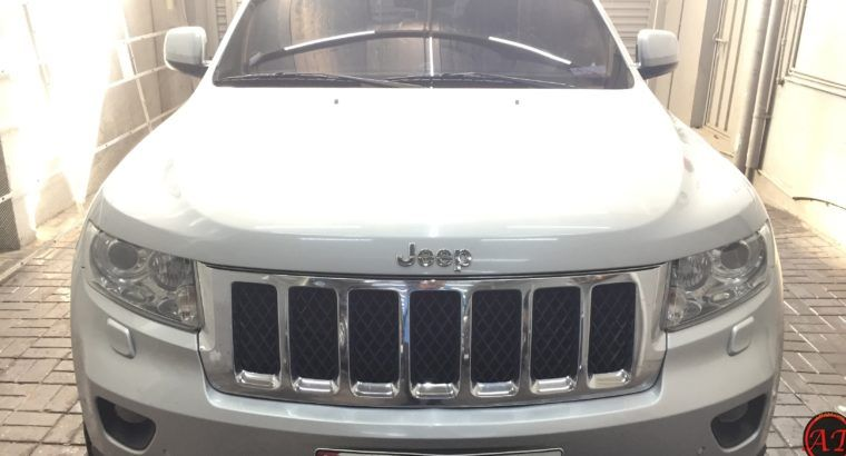 Used Jeep Grand Cherokee Hemi 2012 Overland 5 7l Silver Used