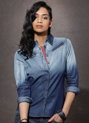 eb82667fe8 15 Exclusive Designer Denim Shirts for Women s in India