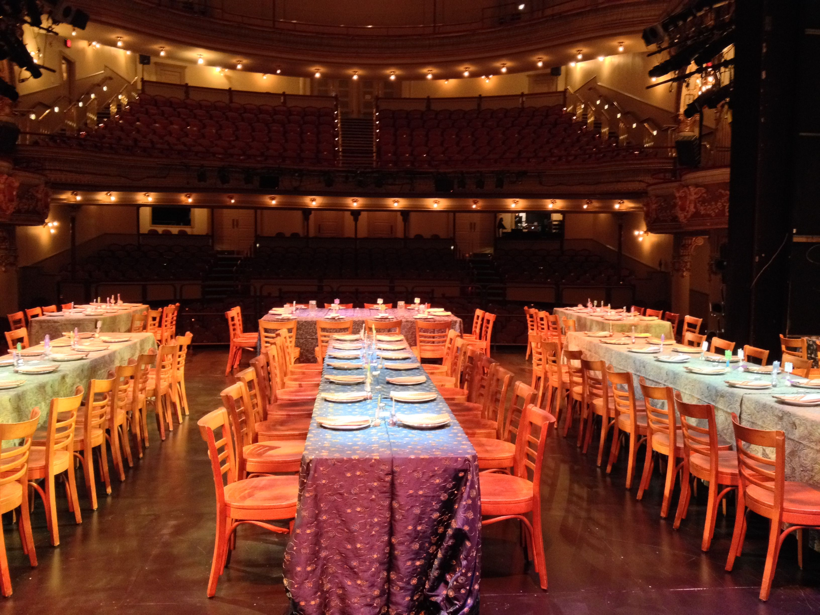 fulton opera house wedding reception in lancaster pa weddings by rettews catering http