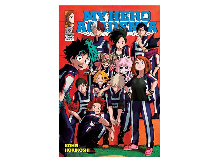 The Fourth Manga Volume Of My Hero Academia By Kohei Horikoshi