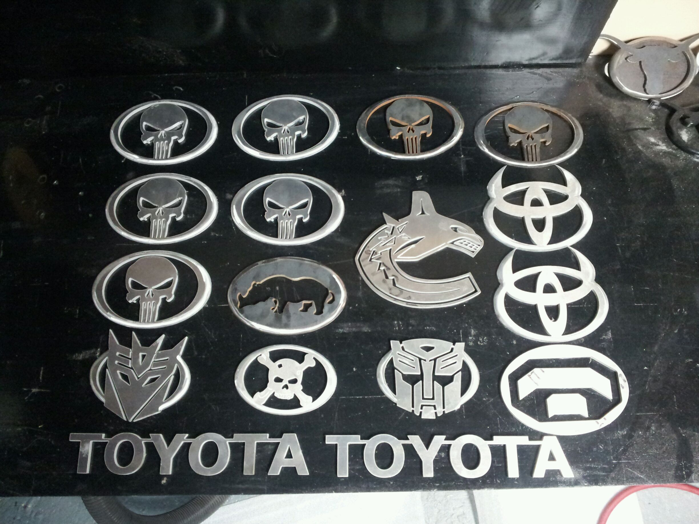 Custom Emblems By Metalmiller Truck Accessories Tacoma World