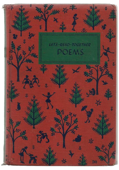 Vintage collection of poems and songs for elementary