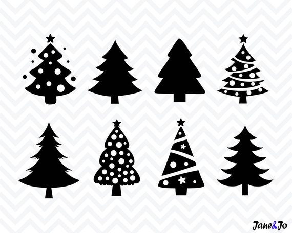 Christmas Tree Vector.Christmas Tree Svg Christmas Svg Christmas Tree Cut File Svg