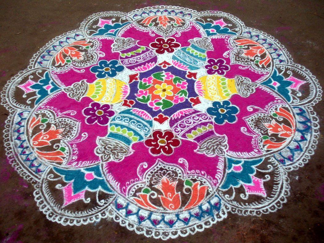 Kolam Tradici 243 N Hind 250 Motif Indien Motif Indien