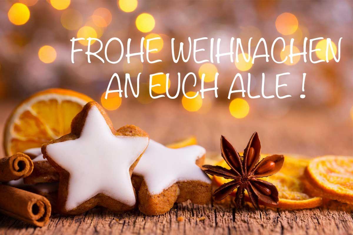 Frohe Weihnachten Euch Allen.Frohe Weihnachten Für Alle Xmas Jolly Frohe Weihnachten Grüße