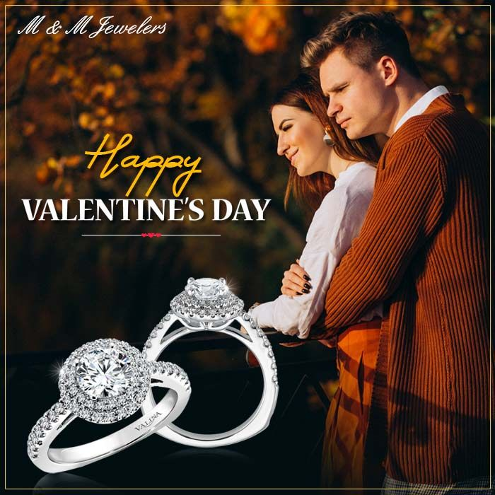 M&M Jewelers wishes you all a very Happy Valentine's Day ...