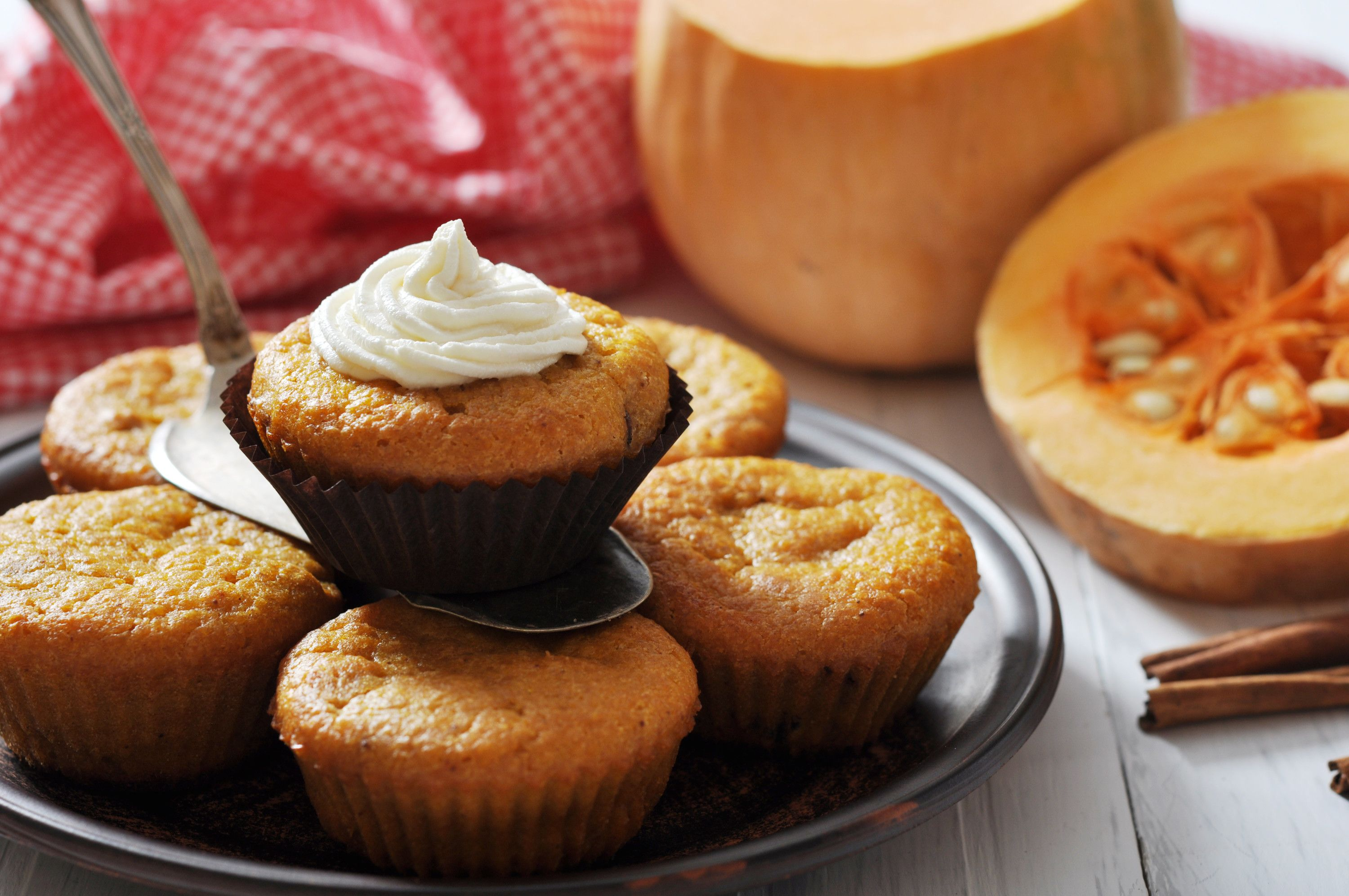 Our Pumpkin Spice Muffins make the perfect snack to make