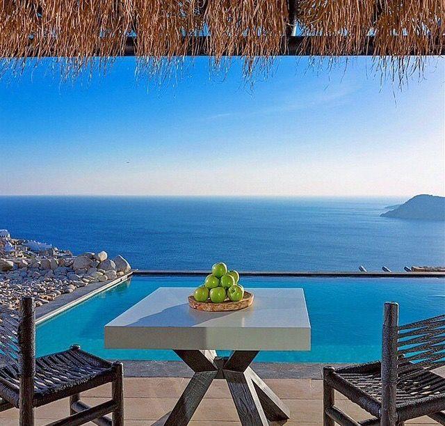 Apples In Paradise At Myconian Utopia Resort @ Mykonos