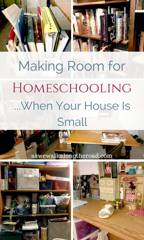 Making Room for Homeschooling When Your House Is Small | Small ...