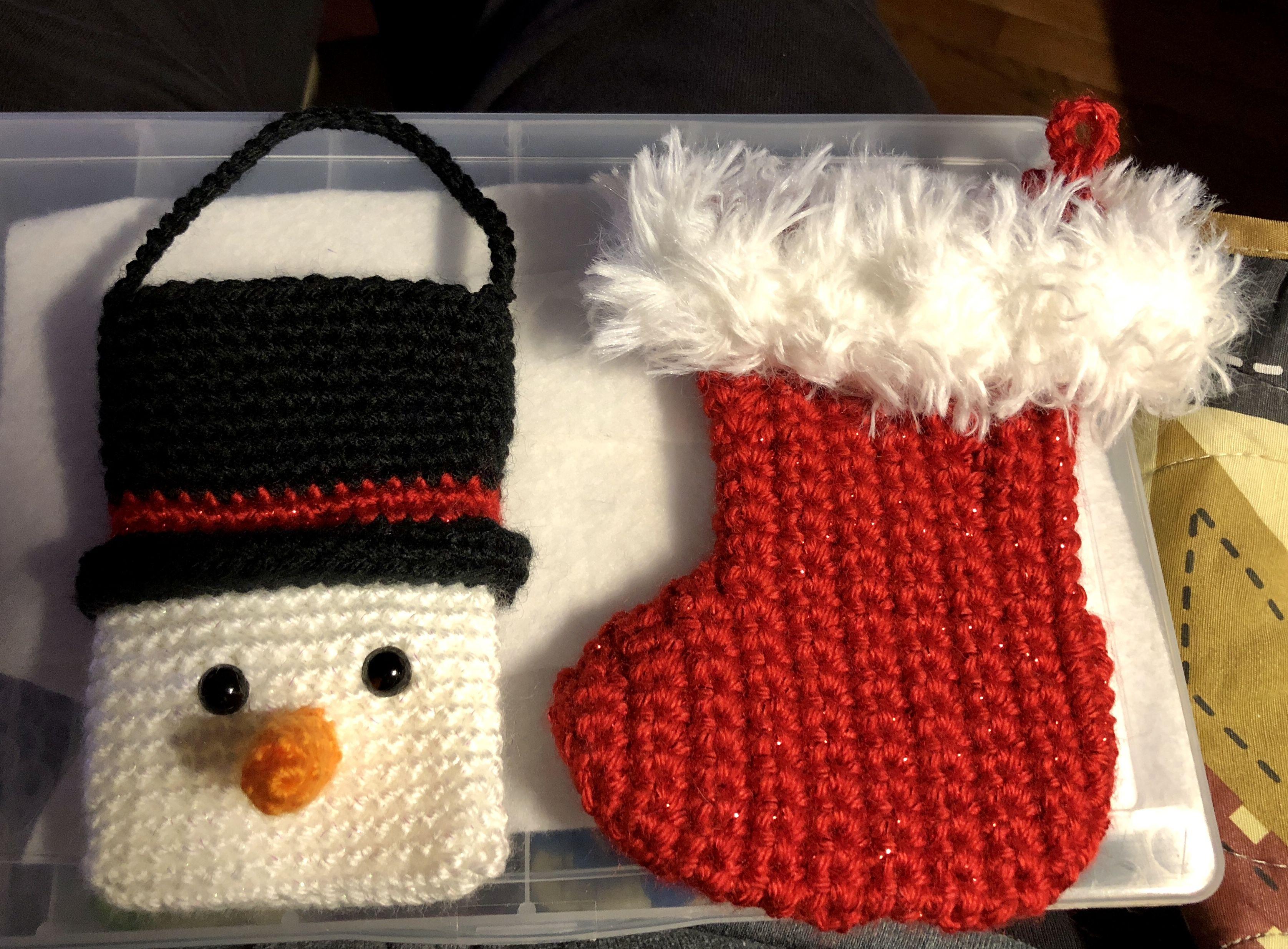 Crochet Christmas Gift Cardmoney Holders Designed By Heart Strings
