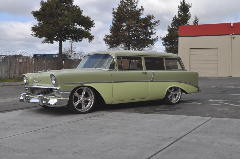 1956 Chevrolet Handyman Chevrolet, Chevrolet pickup