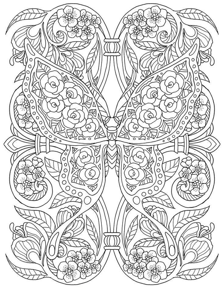 www.behance.net - Kleurplaten, Kleuren en Vlinders
