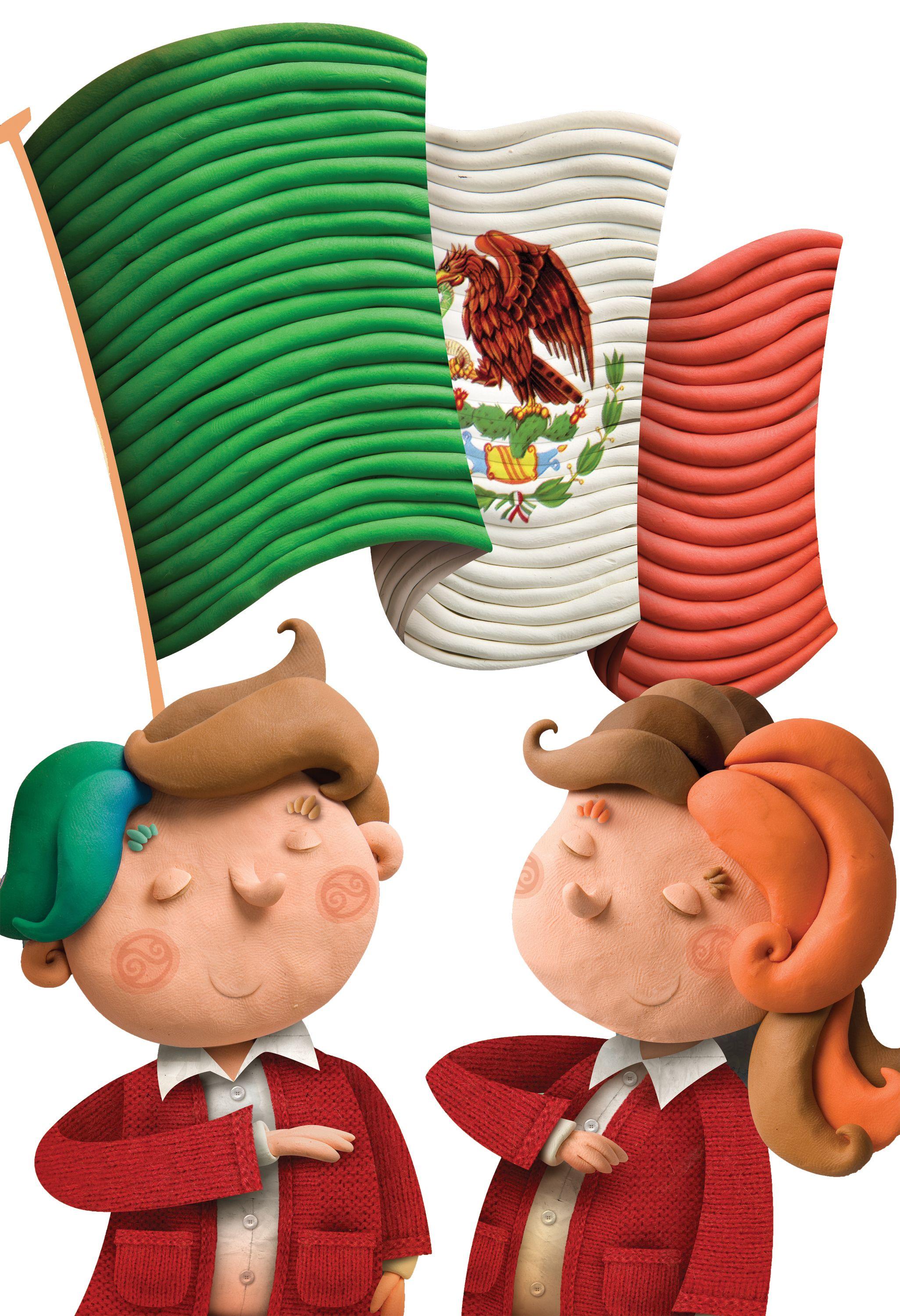 Mexico Dia De La Bandera Club Ediba Dia De La Bandera Bandera De Mexico Dibujo Bandera Dibujo
