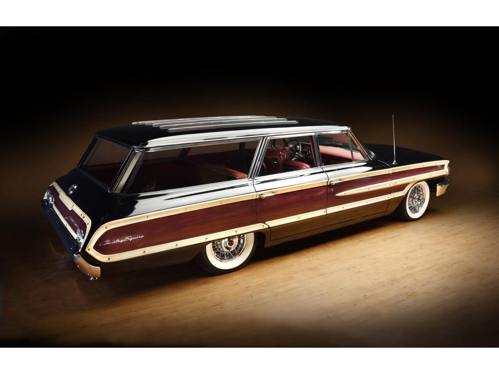 1964 Ford Country Squire (hi re) | Wagons | Pinterest | Ford and Cars