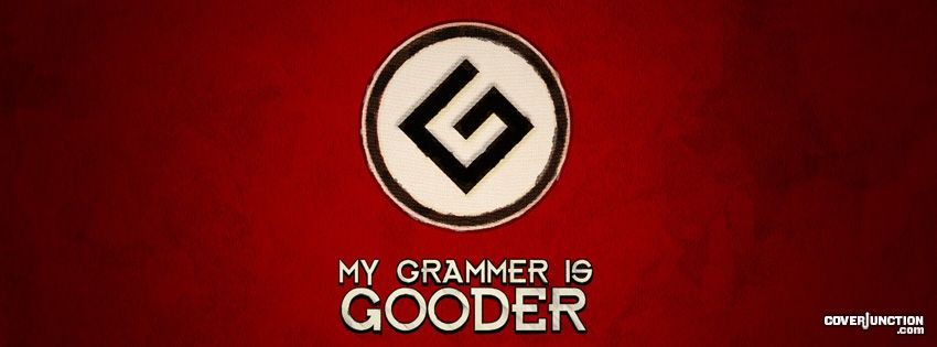 Grammar Nazi Facebook Cover