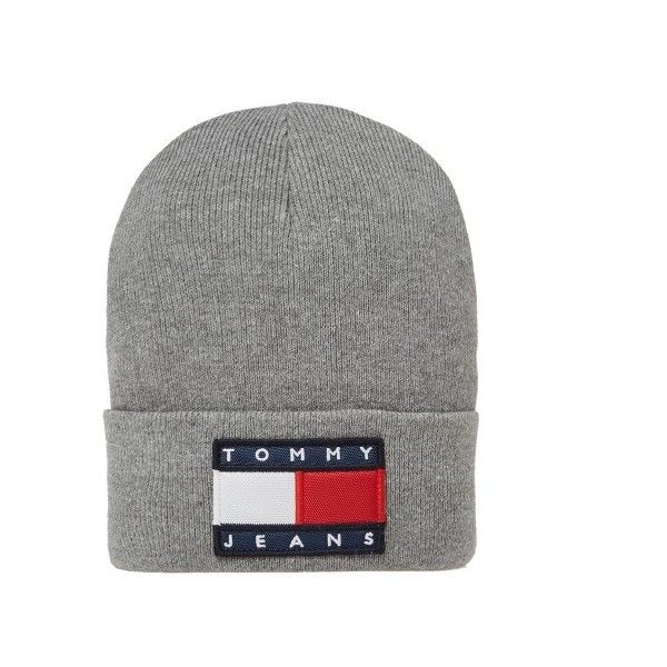 Tommy Jeans 90s Beanie ( 49) ❤ liked on Polyvore featuring accessories 1557ec82e5a