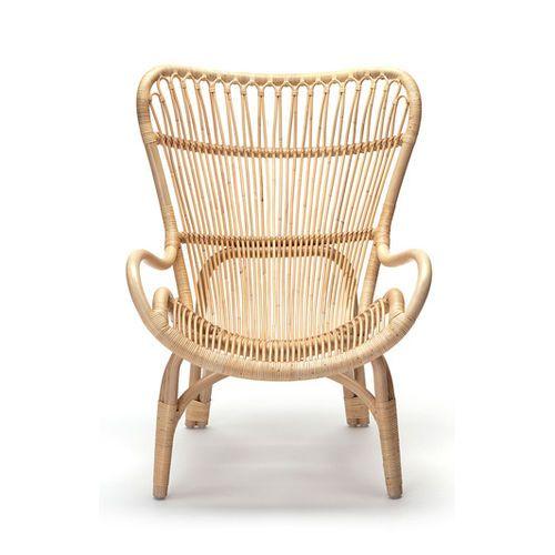 Contemporary Visitor Armchair / Rattan / High Back   HIGHBACK By Yuzuru  Yamakawa   Feelgood Designs