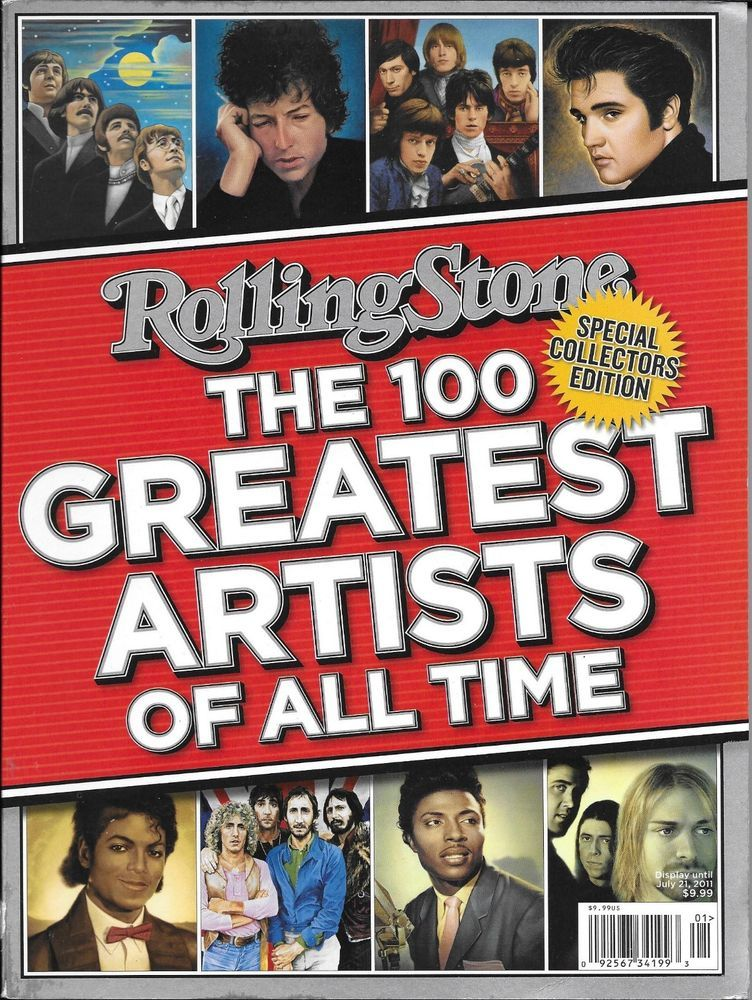 Rolling Stone Magazine The 100 Greatest Artists Of All